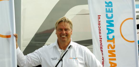 Arthur Dontje neemt afscheid als voorzitter